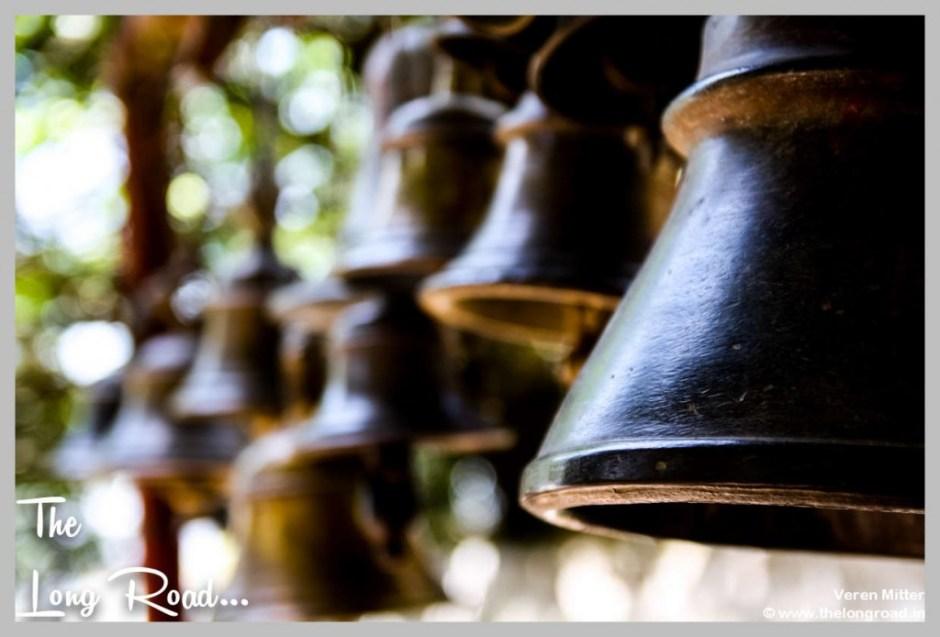 Big Black tempe bell at Kumaon Uttarakhand Himalaya India