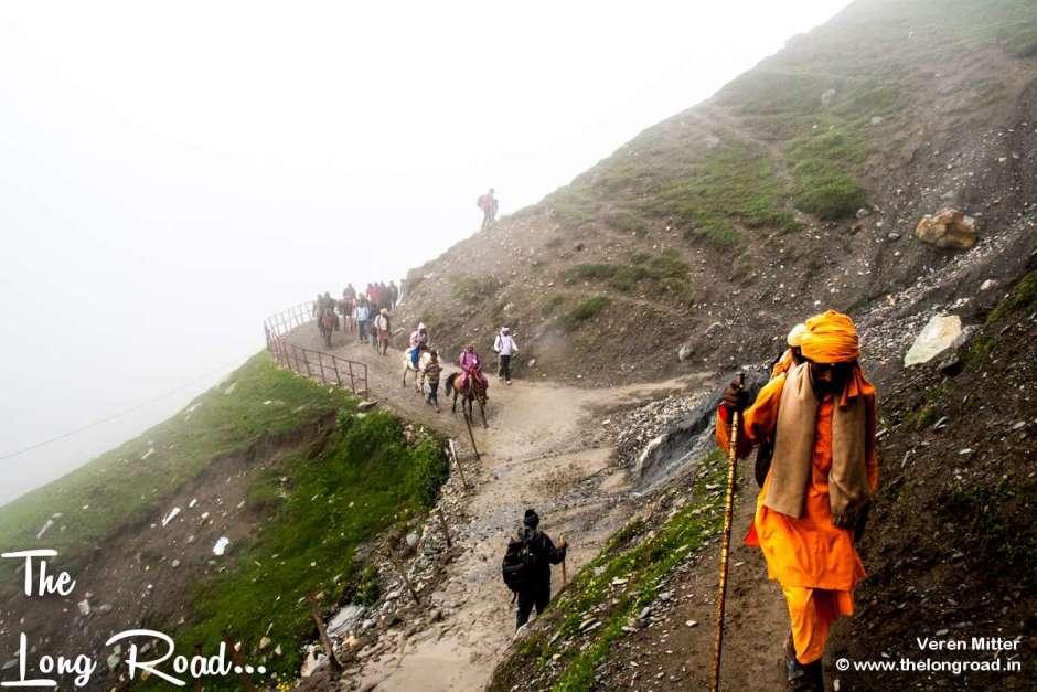 The climb to Jojibal, Amarnath