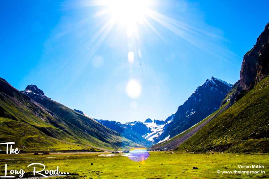 view of Panchtarni, Amarnath yatra