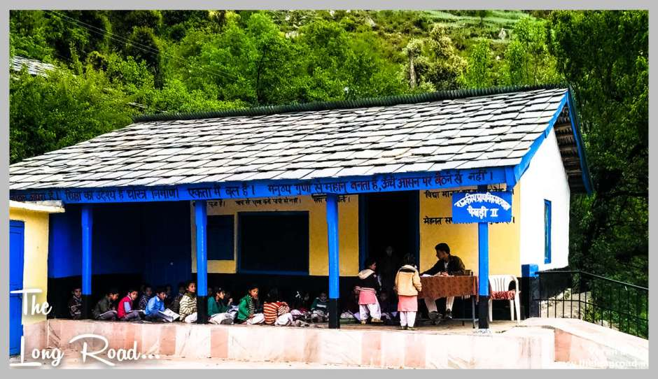 Primary school Tirthan valley GHNP