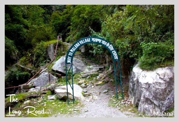 Old Malana village trek route