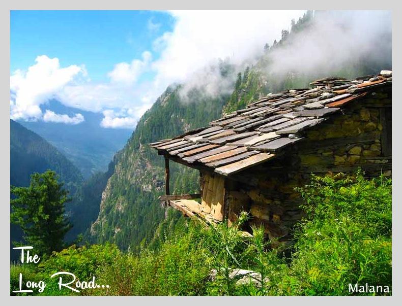 malana village house