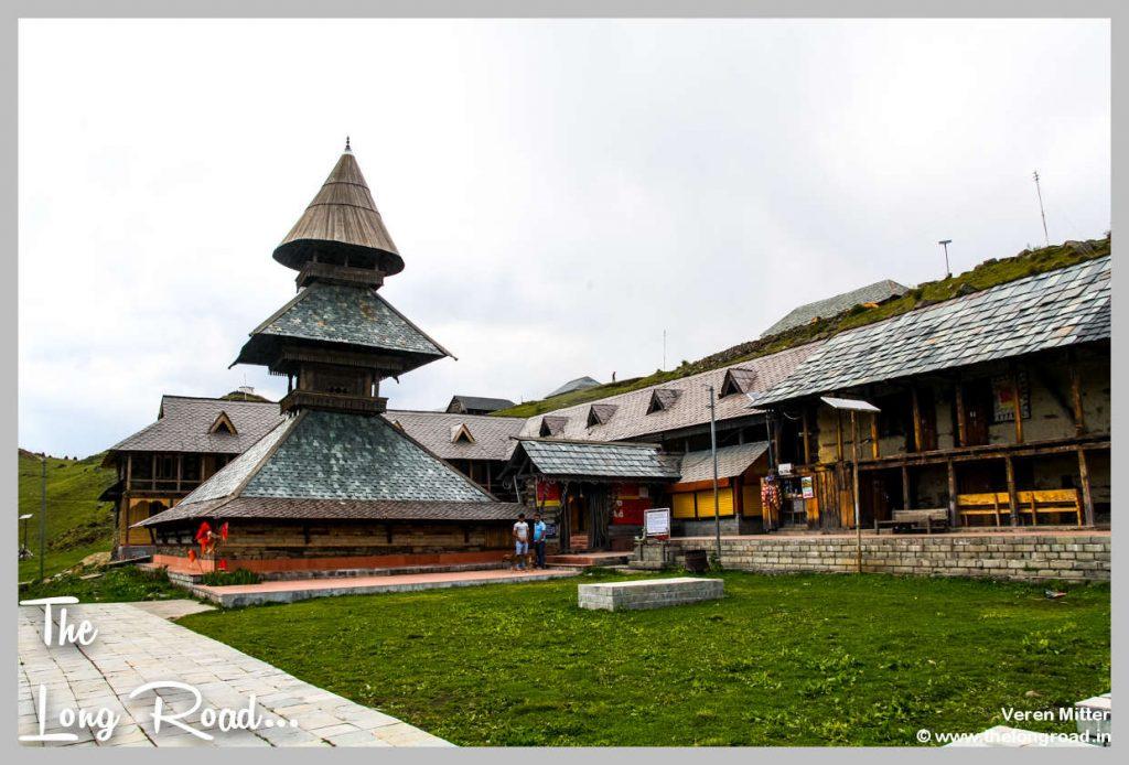 Prashar lake wooden temple