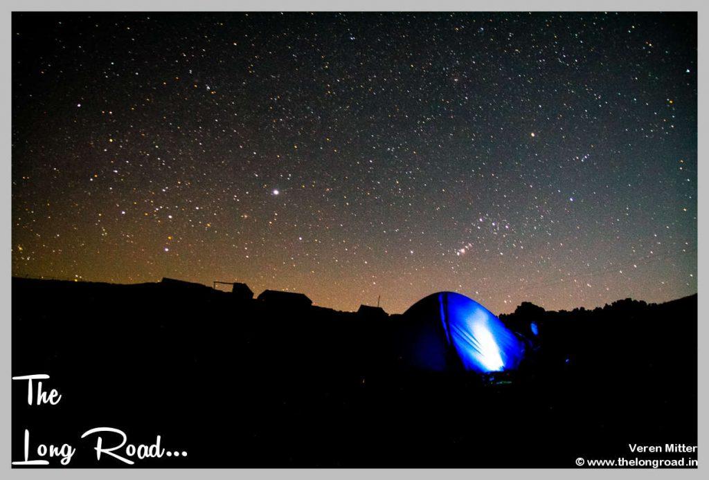 Night Sky at Prashar lake