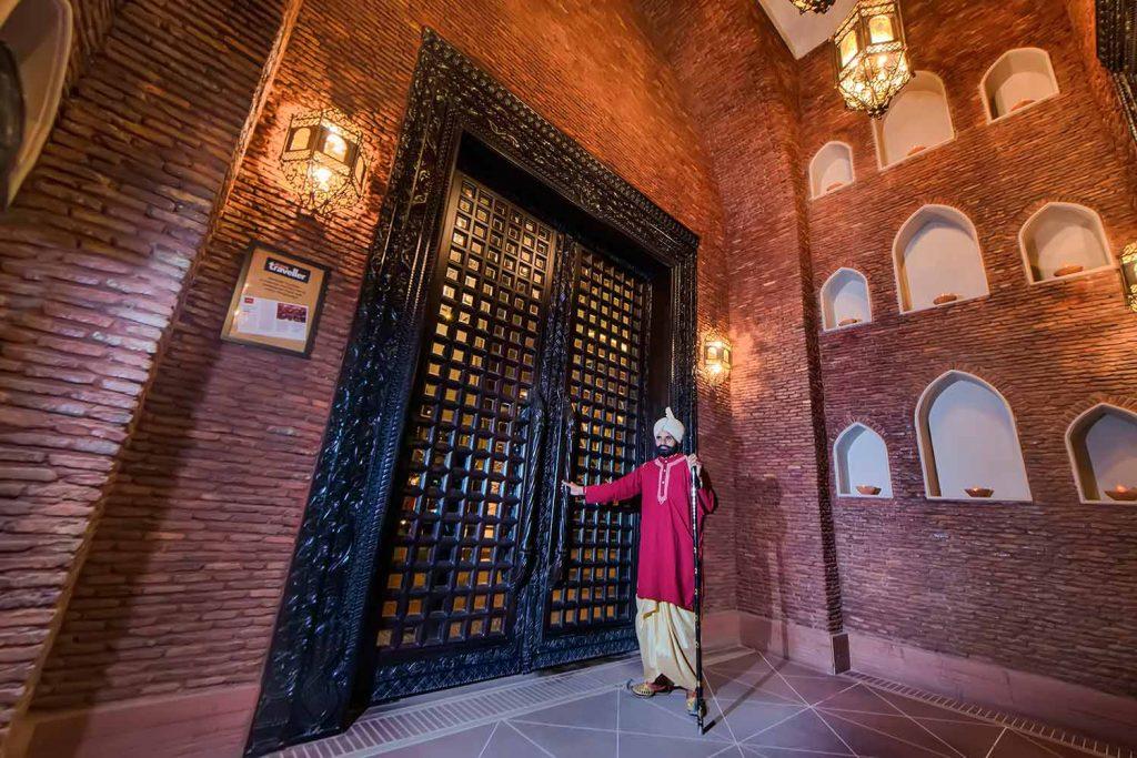 Entrance of Restaurant Haveli Amritsar