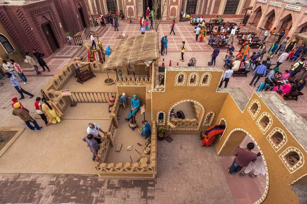 Outdoor layout at Haveli Amritsar