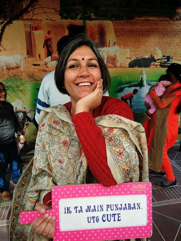 Photo clicking corner at Haveli Amritsar