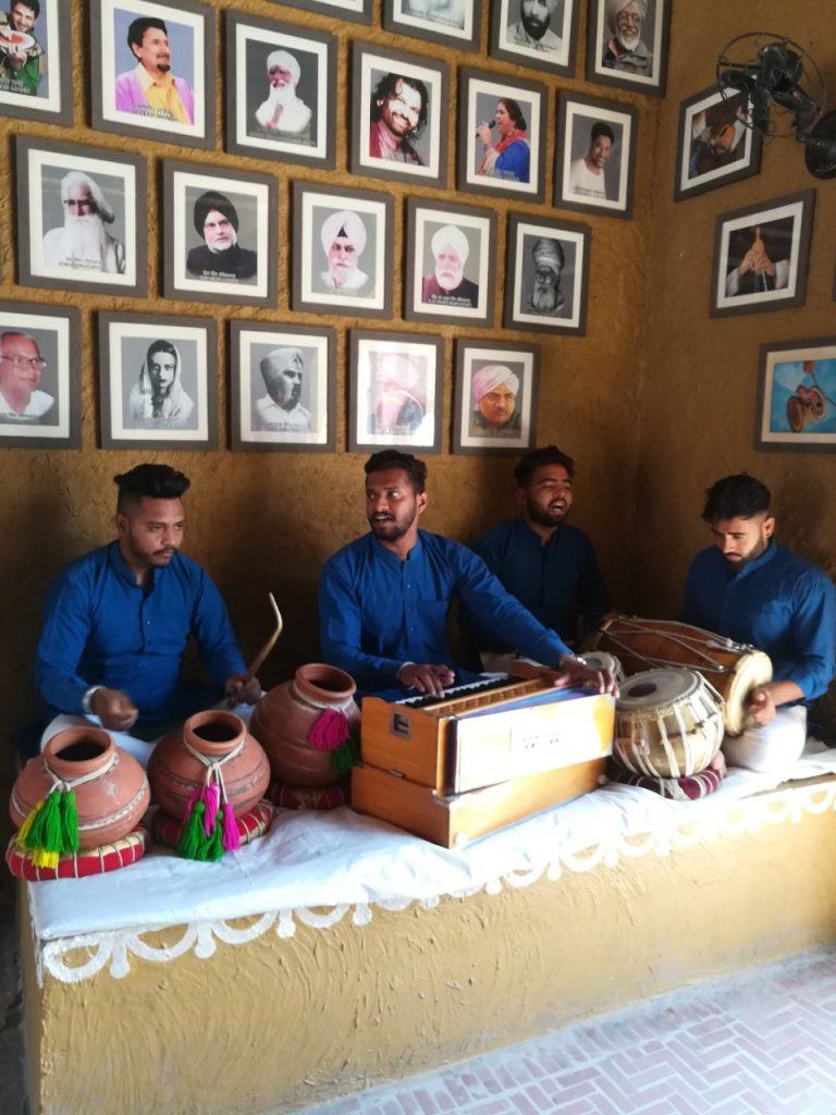 Musician performing Live at Haveli Amritsar