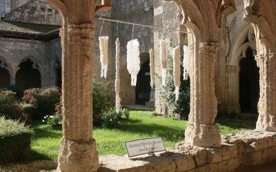 Underneath the Arches /Cloisters at La Romieu