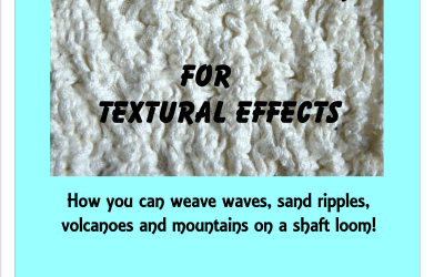 Woven Shibori for Textural Effects – pdf available now
