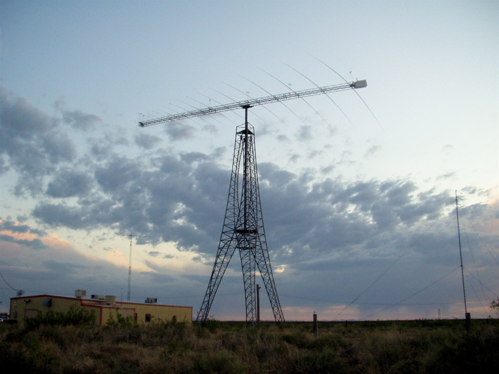 radio station at the Lord's Ranch, Vado, NM