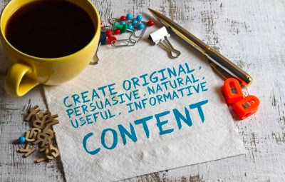Do-It-Yourself Content Marketing