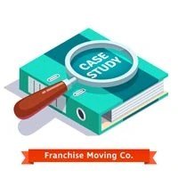social media case study - franchise company