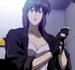 9 - Motoko Kusanagi - ghost in the shell
