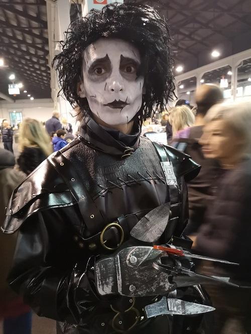 Il cosplay di Edward mani di forbice by Joker_darksmile