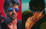 3. Kenshiro e Sylvester Stallone