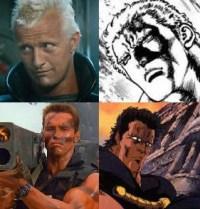 6. Raoul e Roy Batty Arnold Schwarzenegger