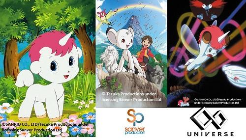 In arrivo i film Kimba il leone bianco e Unico l'unicorno 2