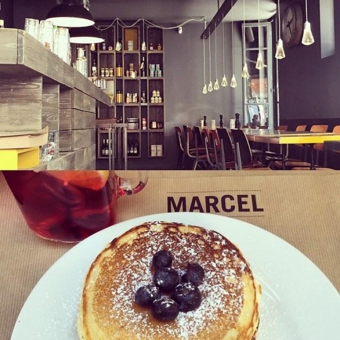 Marcel cafè Paris Parigi