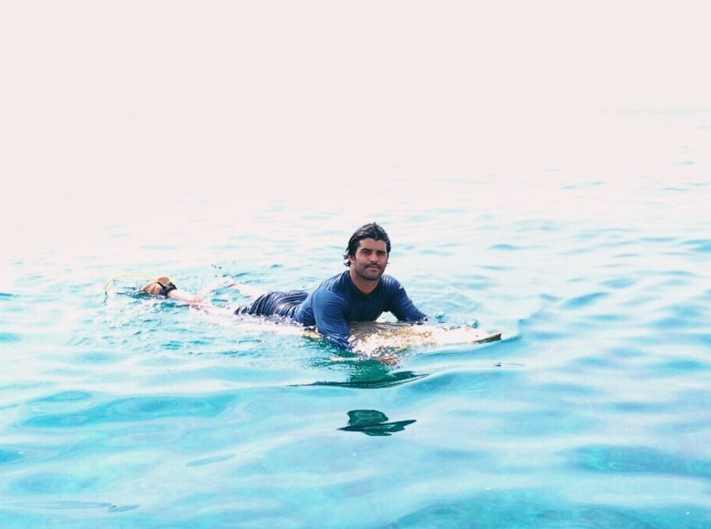 Alexander Mijares Surfing