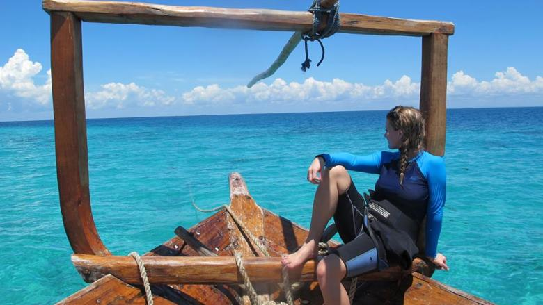 Tanzania Boat Tropical Ashlyn George