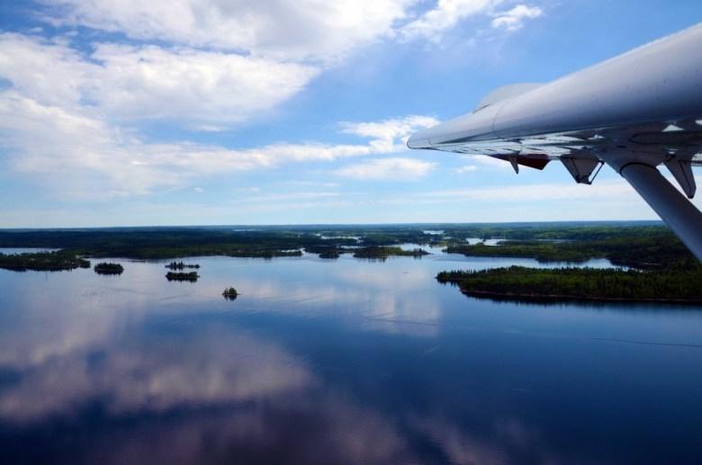 Northern Saskatchewan Islands Water Airplane