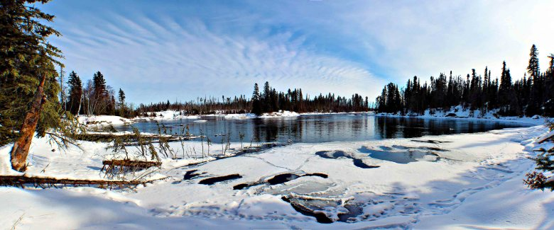 The Churchill River, Canada