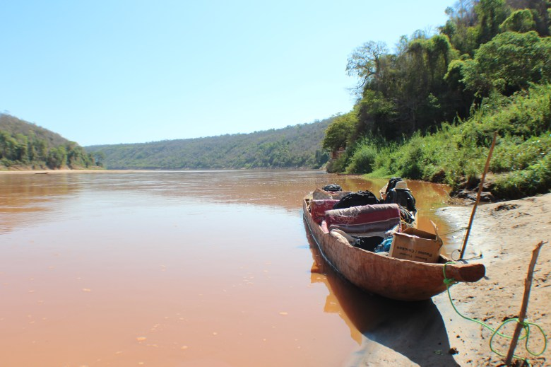 """Spending three days floating down the Tsiribihina river in a """"pirogue"""" is one way to experience a small part of the country."""