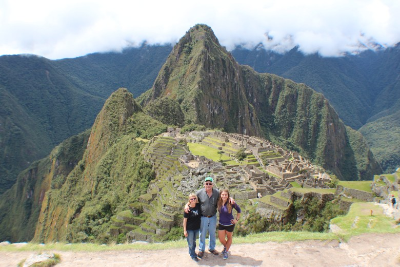 Mom and Dad Machu Picchu