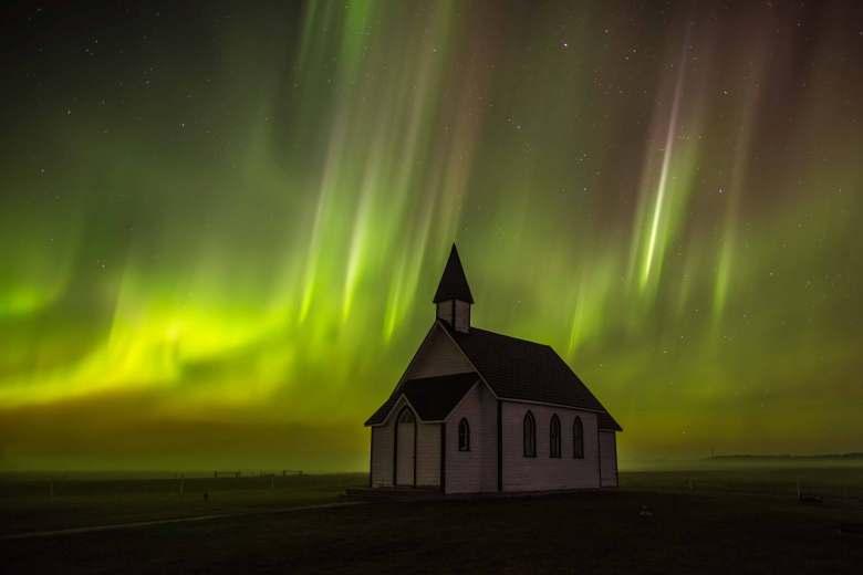 Credit: Darcy Conn, taken north of Regina, SK