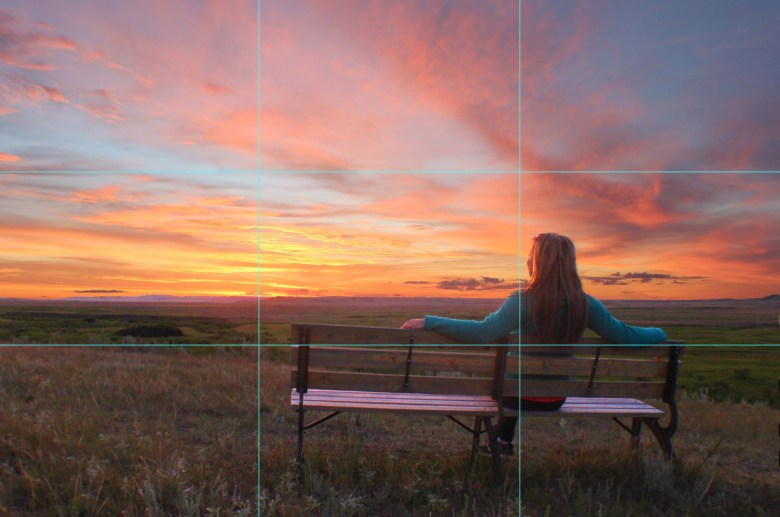 The Rule of Thirds is a photography rule stating an image is more aesthetically pleasing if split into nine equal parts. The subject of the image should be in the cross over of at least one of the grids.