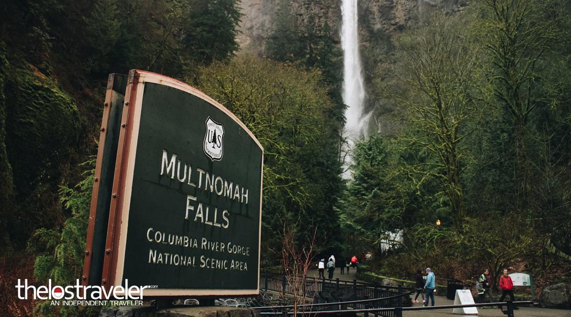 Berkenalan Dengan si Jangkung, Multnomah Falls