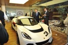 Lotus-Exige-S-in-showroom-with-George-Zard-Executive-Board-member-Lotus-cars-Lebanon.jpg