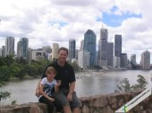 Next, a trip to Kangaroo Point for a scenic view of Brisbane city