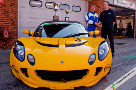 Steve Quick is the inaugural Lotus Cup UK Champion (image courtesy of Kevin Ritson)