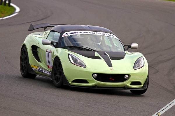 Gavan Kershaw pilots the new Production class Elise Cup R to victory in its debut race