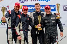 3. (L-R) Stuart Ratcliffe and Anthony Dunn finished third in the Production battle behind winner Adam Gore and Fulvio Mussi (credit: Kevin Ritson)