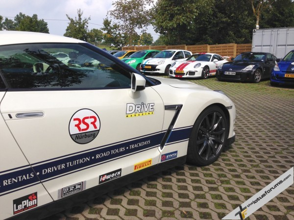 RSR's fleet of track and road cars for hire must be the best in the world.