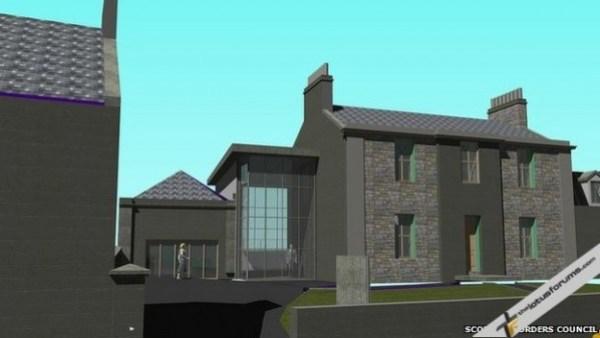 New Jim Clark Museum Concept Image