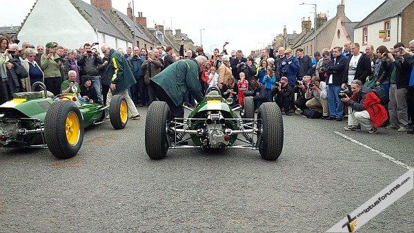 Jim Clark Weekend 2013 Lotus Type 25's