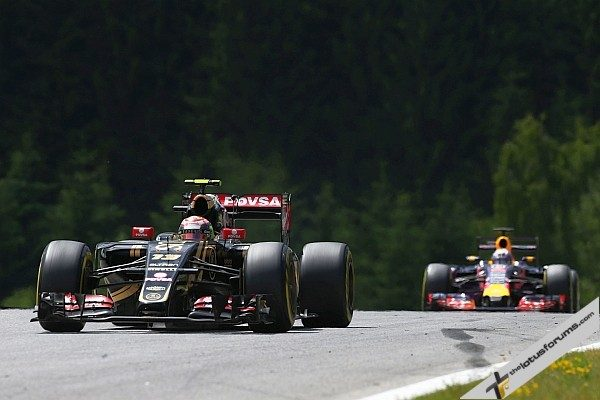 Pastor Maldonado (VEN) Lotus F1 E23. Austrian Grand Prix, Sunday 21st June 2015. Spielberg, Austria.