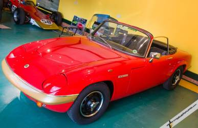 Malcolm's Elan Sprint, owned from new in 1972