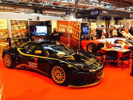 Evora GTE race car