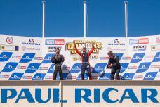 Race three podium