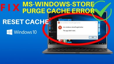 Photo of How to Fix Ms Windows Store Purge Cache App Didn't Start