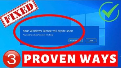 Photo of Your Windows Licence will Expire Soon