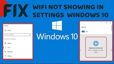 Photo of WiFi Option not Showing in Settings – LotusGeek