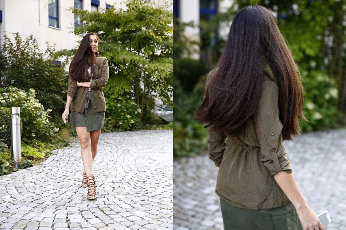 WelcomingFall-Trend-MustHave-Olive-Autumn-Streetstyle-Munich-OOTD-Look-Fashionblogger-München-Fashionblog-JustFab-Leo-Heels-LaceUp-Parka-Herbst