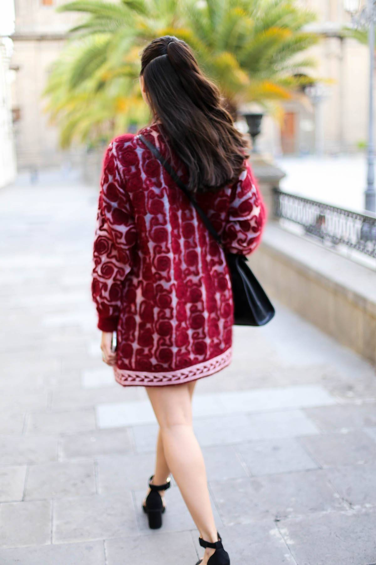 THE PATTERNED SUMMER COAT