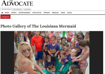 Advocate: Louisiana Mermaid made surprise visit at North Park's AQUA PARDS